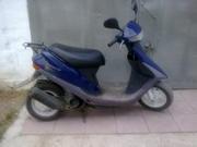 Мопед Honda Dyo,  синего цвета