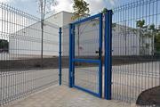 Металлический забор панельного типа в Самаре