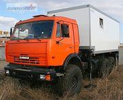 ПАРМ на шасси  КАМАЗ-43118-3078-24 с КМУ Palfinger PK15500