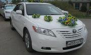 Свадебный картеж Toyota Camry с водителем в Самаре - от 900р/ч