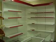 Стеллажи металлические торговые разборные для магазинов