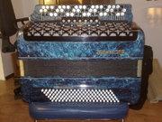 Баян Тула-302 (синий перламутр)