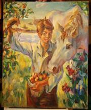 картина Дельцова работа 1979 год