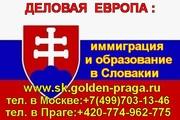 Вид на жительство в Словакии,  быстро и гарантировано