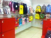 Отдел по продаже женской,  детской одежды и белья известной марки