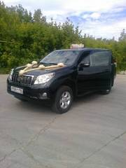 Аренда  Toyota Land Cruiser Prado с водителем.
