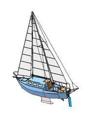 продам яхту стальную