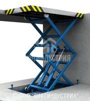 Гидравлический лифт транспортирует груз за Вас!