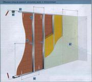 Стены из гипсокартона.Стена гкл