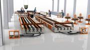 Технологическая  линия по производству световых опор св
