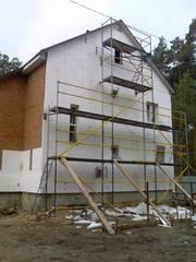 Фасадные работы Ремонт фасада цены Самара Утепление дома  Вентилируемы